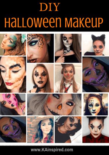 diy halloween makeup looks halloween halloweencostume diy diyhalloweencostume diycostume makeupideas