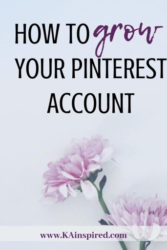 How to grow your Pinterest account, increase your monthly viewers, increase your follows, how to get more followers #pinterest #pinteresttips #pinterestaccount #keywords #blog #bloggingtips #blogginhelp #KAinspired