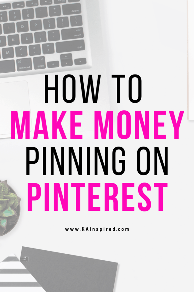 How to make money pinning on Pinteret