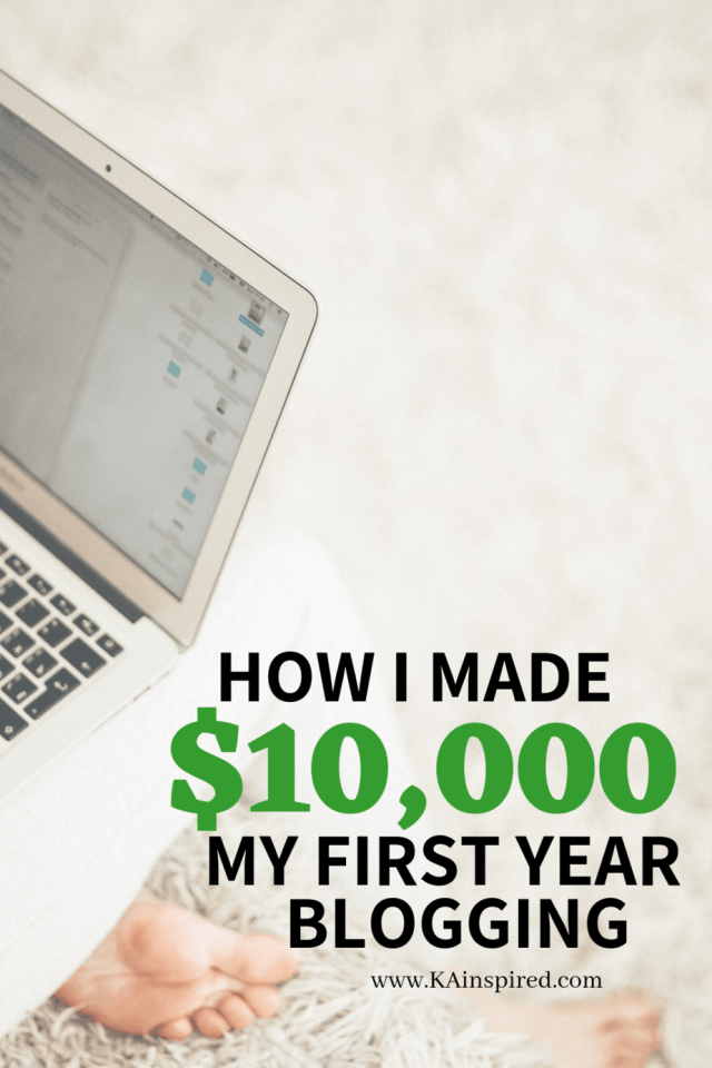 How I made 10,000 my first year blogging