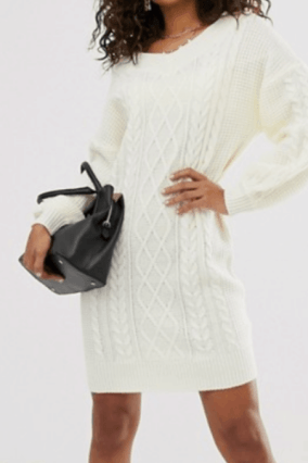 COMFY SWEATER FOR FALL - sweater dress