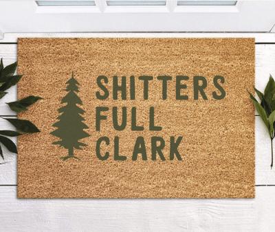 Shitters Full Clark Doormat