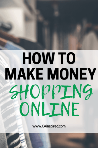 how to make money shopping online