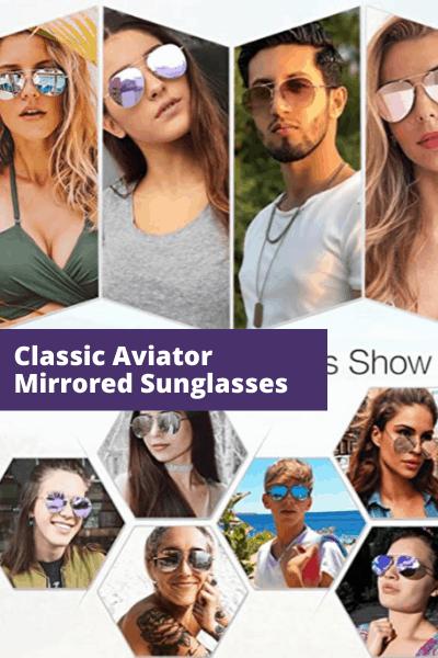 Classic Aviator sunglasses | Summer Fashion
