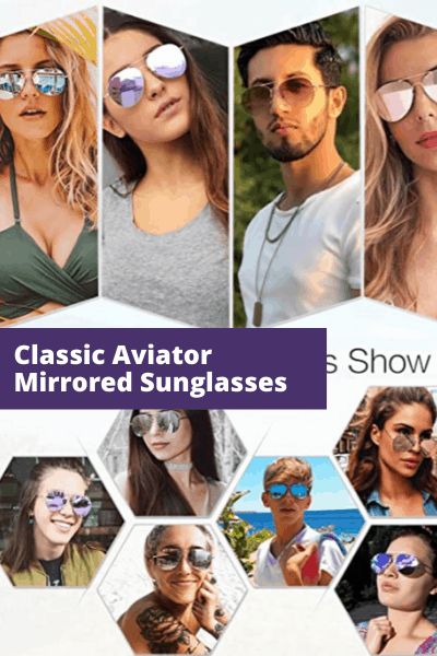 Classic Aviator sunglasses | Summer Fashion