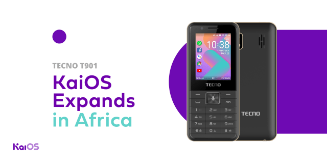 The first TECNO device running KaiOS is here: Meet the T901 - KaiOS