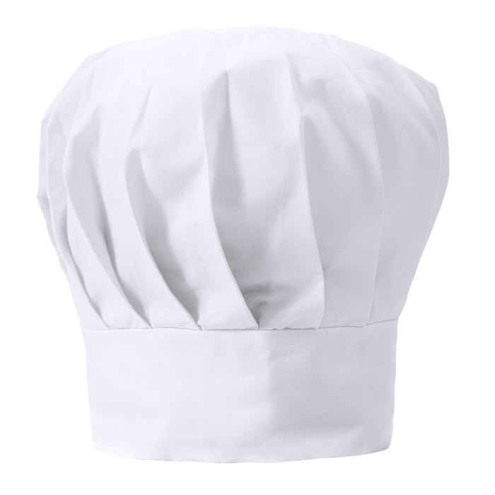 Delantales Gorro cocinero algodnpolister