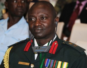 Gambia's military chief of staff Ousmane