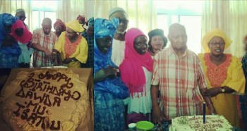 Sir Dawda celebrating 91st birthday with family!