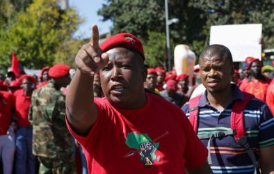 "Malema claimed last week's march outdid the EFF's 60km protest from Johannesburg to Pretoria four years ago' and ""should be in the records of history to be celebrated by many generations to come"". Image by: Cornell Tukiri"