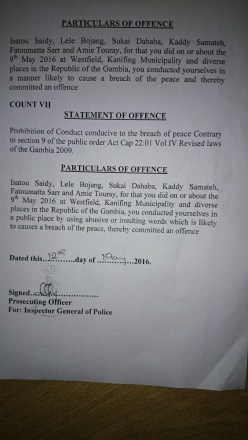 Charge Sheet 4