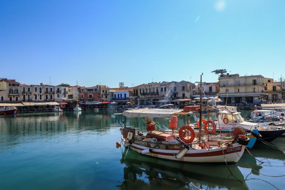Kreta - Hafen von Rethymno