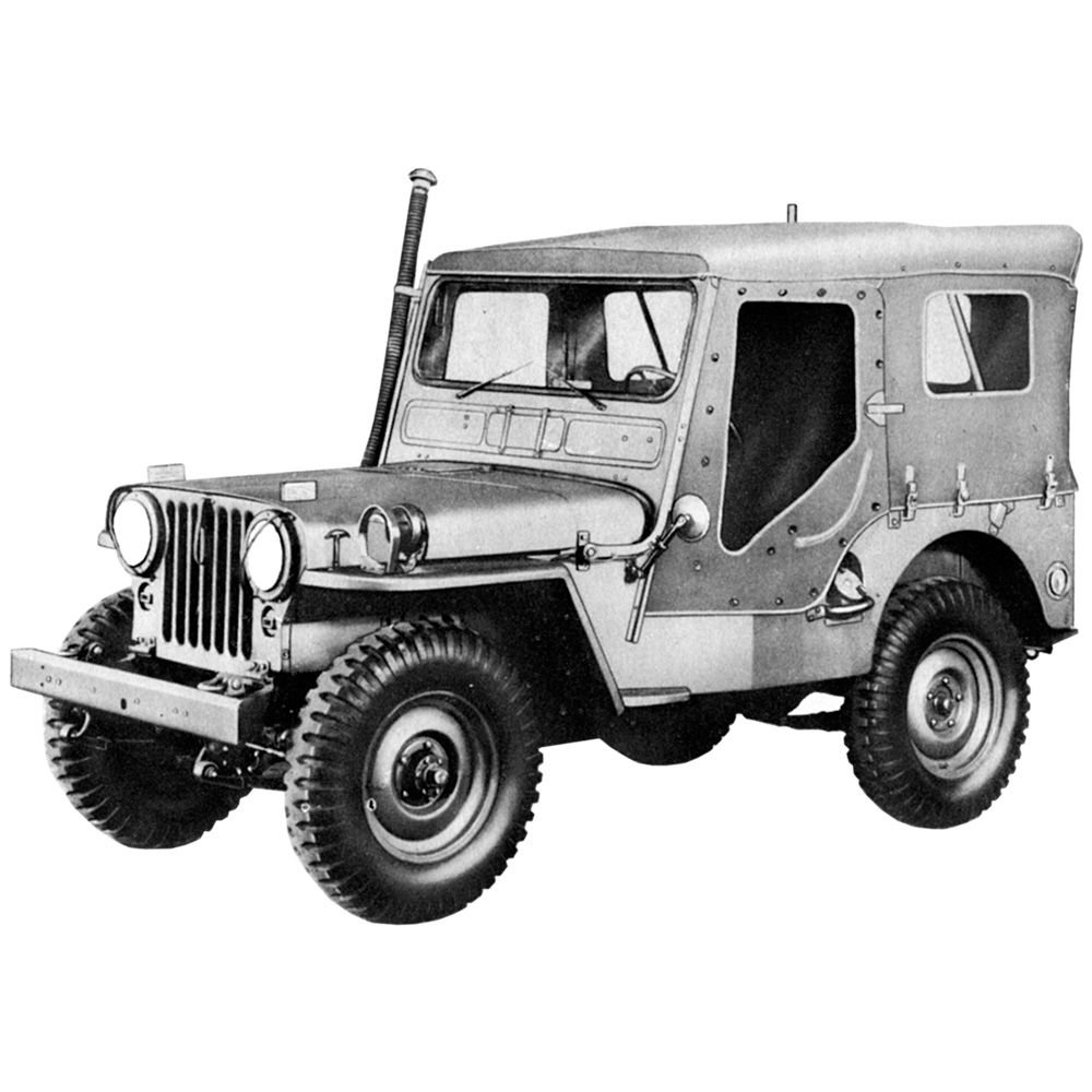 hight resolution of illustration willys m38