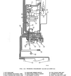 wiring diagram l6 226 4x4 and 4x2kaiser willys wiring diagrams 1 [ 980 x 1491 Pixel ]