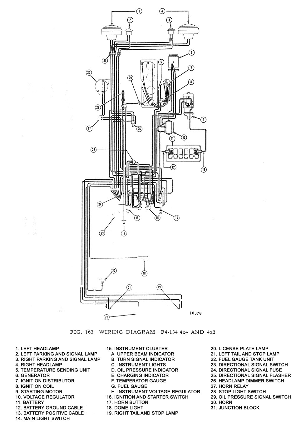 medium resolution of kaiser jeep wiring diagram