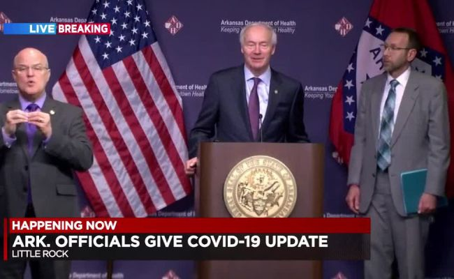 Replay Full Briefing Gov Hutchinson S Daily Covid 19