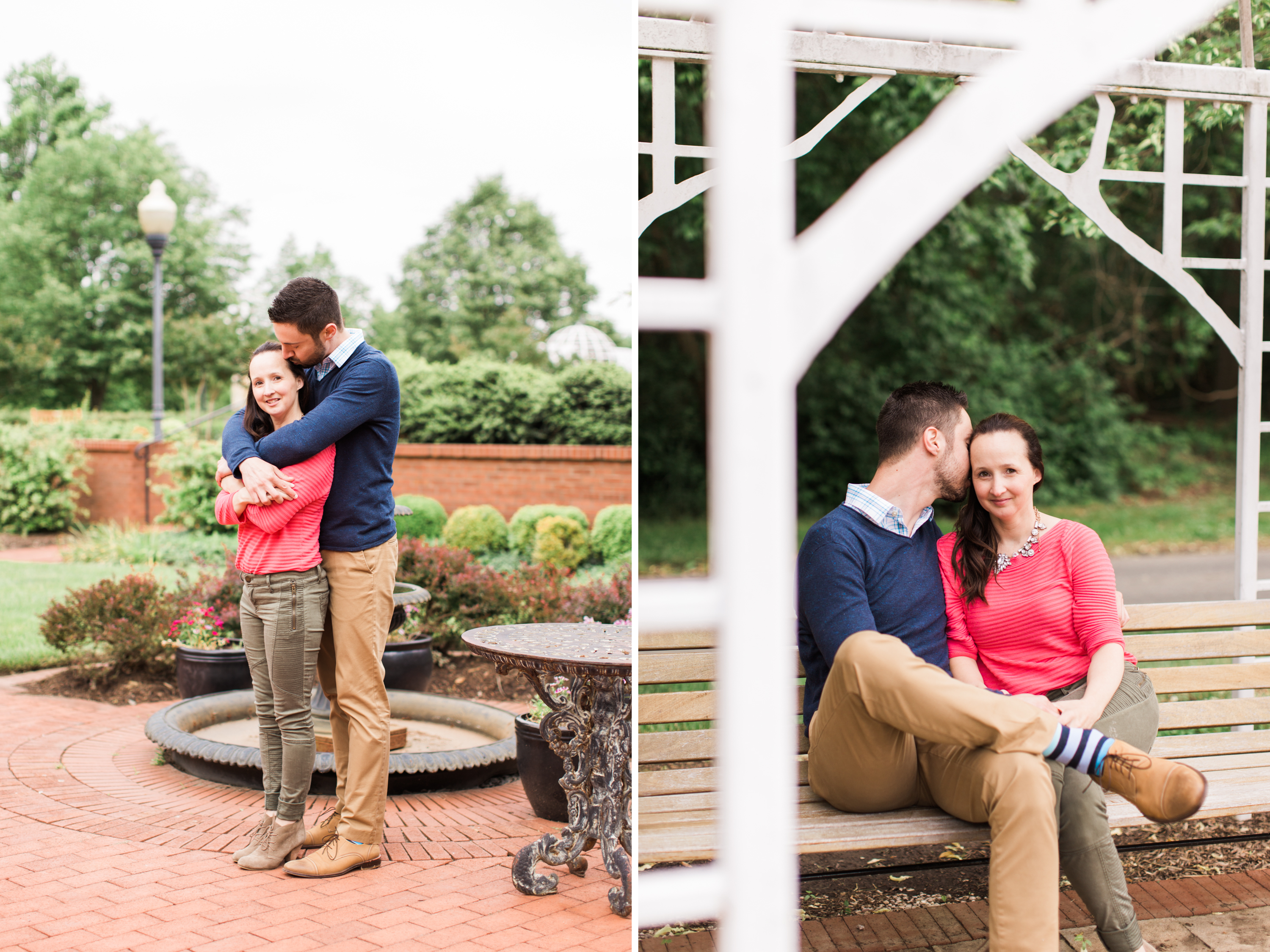 Annapolis Quiet Waters Park Engagement Maryland Photographer