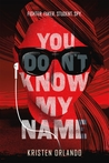 Review of You Don't Know My Name by Kristen Orlando