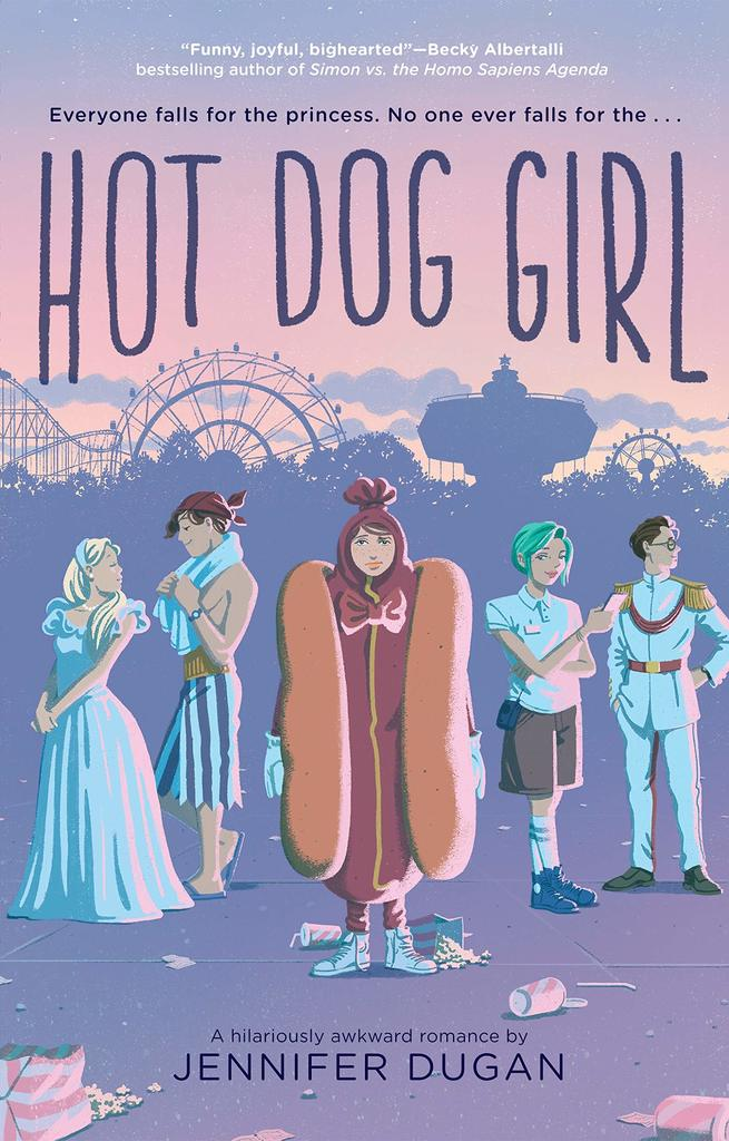 Review of Hot Dog Girl by Jennifer Dugan (GIVEAWAY!!!)