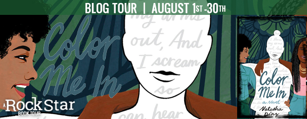 Blog Tour: Color Me In by Natasha Diaz (Excerpt + Giveaway!)