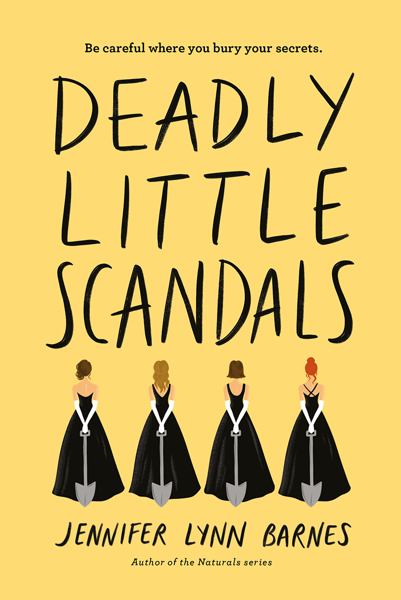 Cover Reveal: Deadly Little Scandals by Jennifer Lynn Barnes