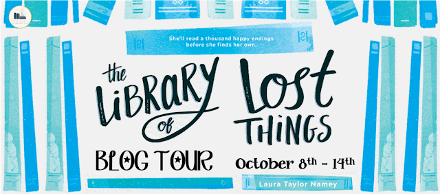 Blog Tour: The Library of Lost Things by Laura Taylor Namey (Top Ten + Giveaway!)