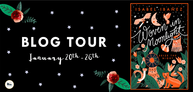 Blog Tour: Woven in Moonlight by Isabel Ibañez (Official Playlist + Giveaway!)