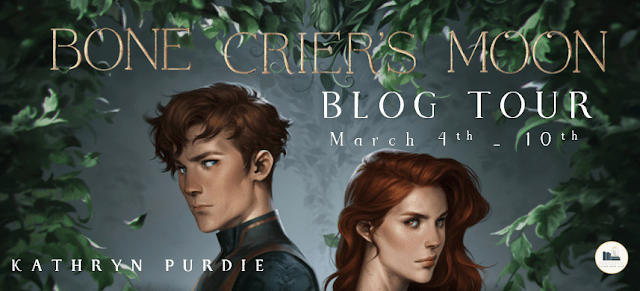 Blog Tour: Bone Crier's Moon by Kathryn Purdie (Tell Your Story in GIFs + Giveaway!)