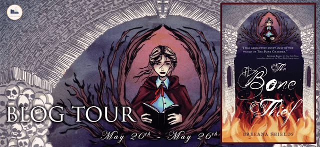 Blog Tour: The Bone Thief by Breeana Shields (Interview + Giveaway!)