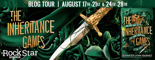 Blog Tour: The Inheritance Games by Jennifer Lynn Barnes (Spotlight + Giveaway!)