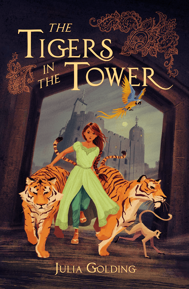 Blog Tour: The Tigers in the Tower by Julia Golding (Spotlight + Bookstagram!)