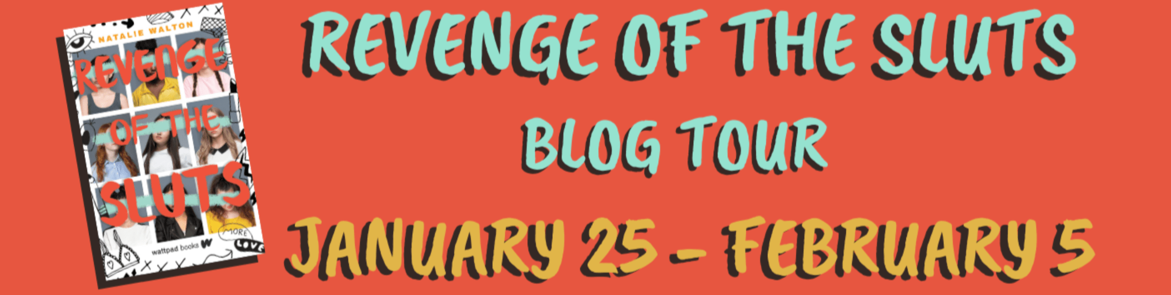 Blog Tour: Revenge of the Sluts by Natalie Walton (Interview + Bookstagram!)