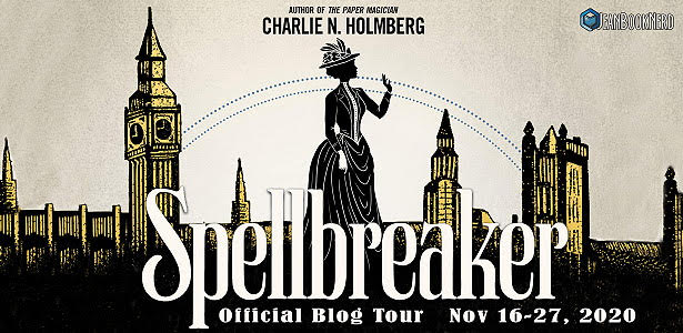 Blog Tour: Spellbreaker by Charlie N. Holmberg (Interview + Giveaway!)