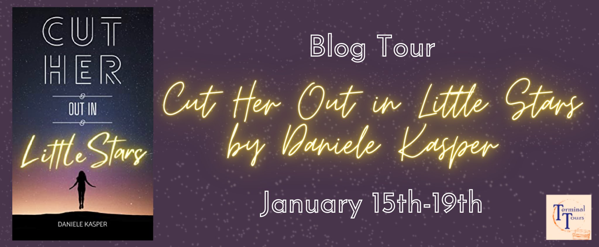 Blog Tour: Cut Her Out in Little Stars by Daniele Kasper (Interview!)