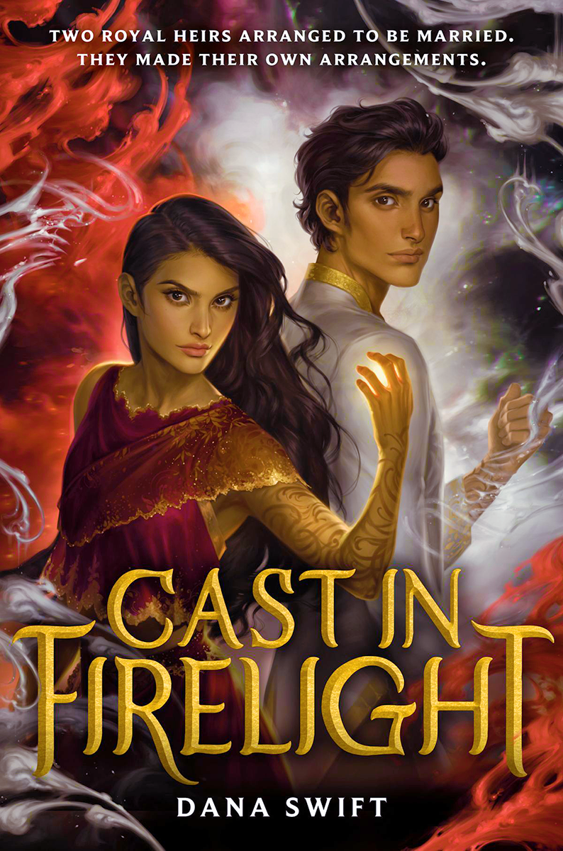 Blog Tour: Cast in Firelight by Dana Swift (Interview + Giveaway!)