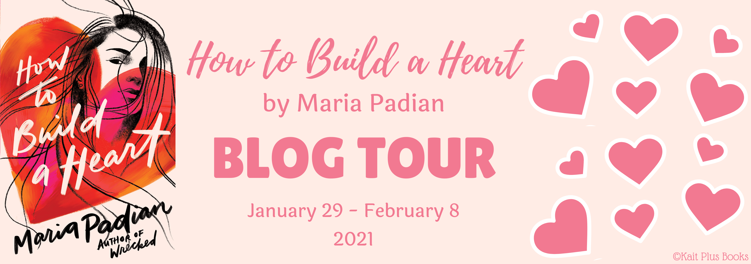Blog Tour: How to Build a Heart by Maria Padian (Review + Bookstagram!)