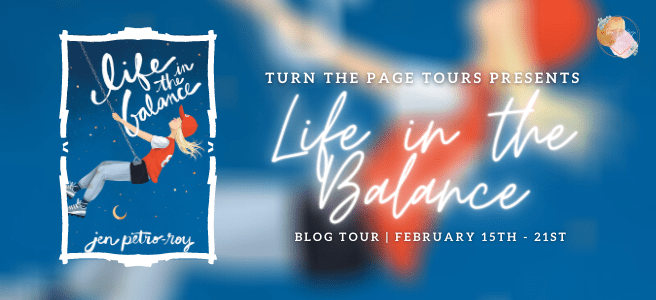 Blog Tour: Life in the Balance by Jen Petro-Roy (Interview + Giveaway!)