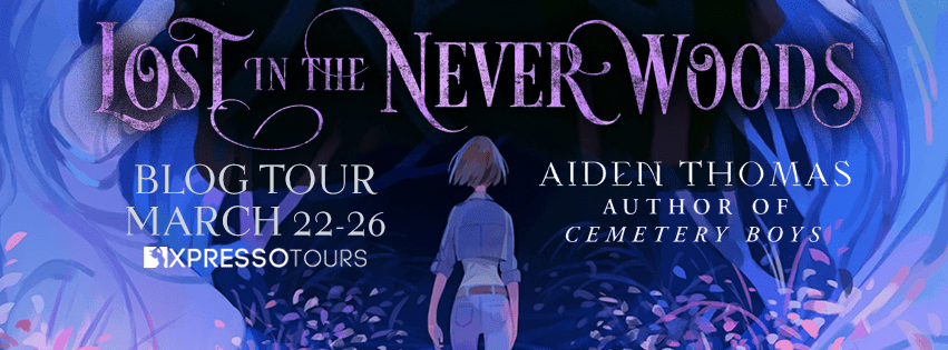 Blog Tour: Lost in the Never Woods by Aiden Thomas (Interview + Giveaway!)