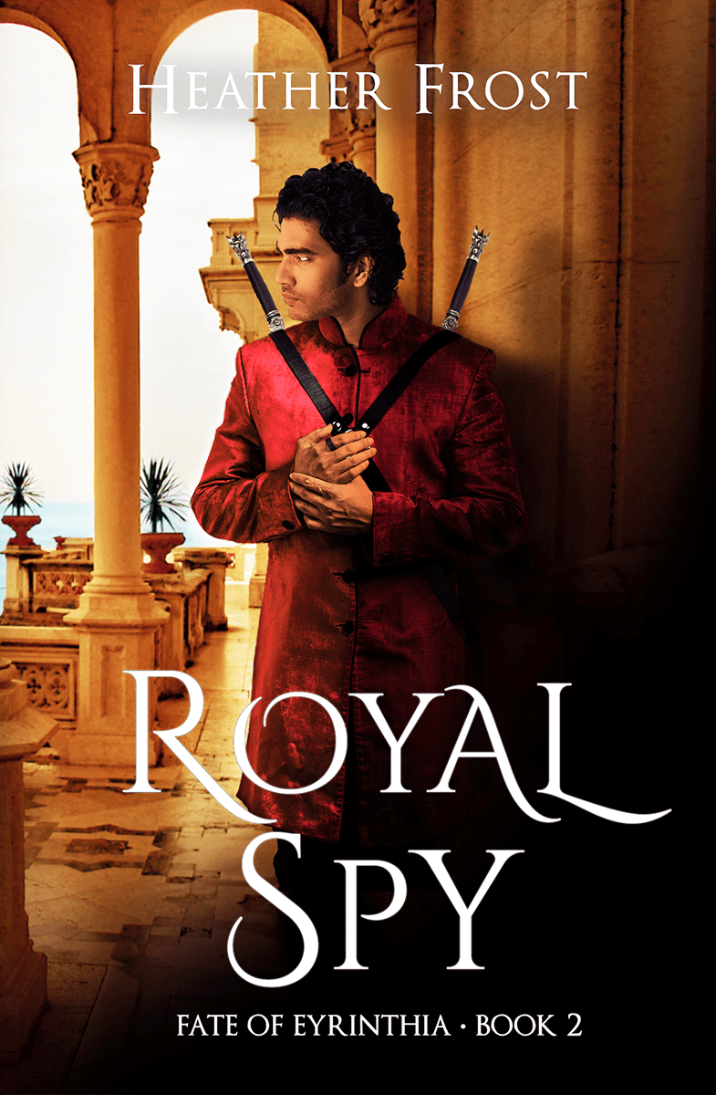 Cover Reveal   Royal Spy by Heather Frost
