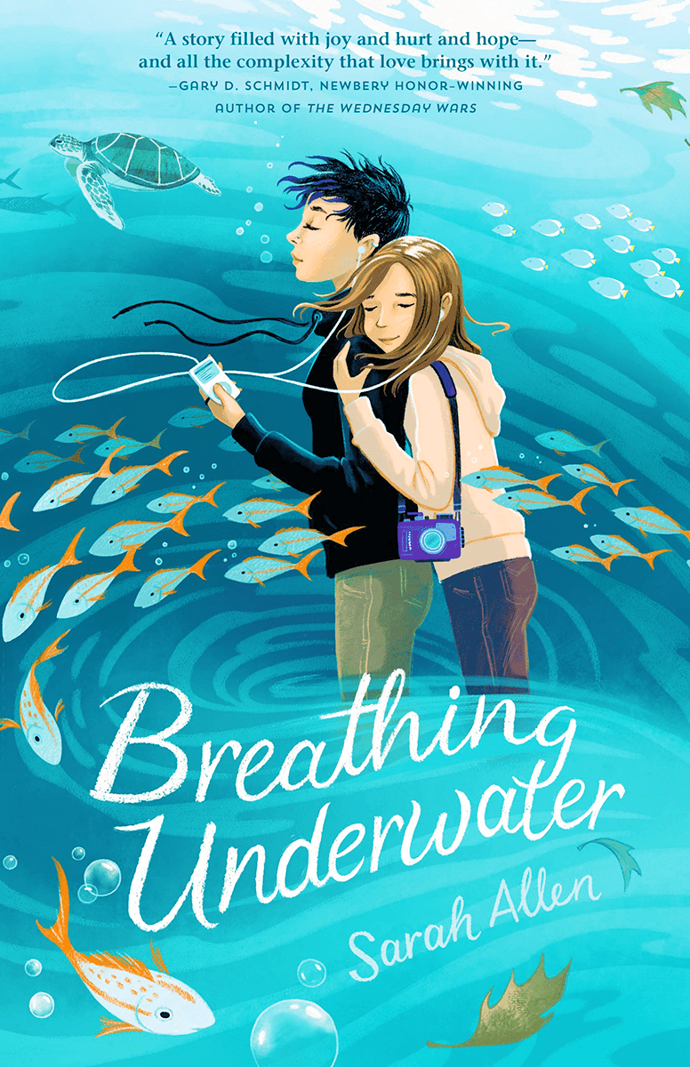Blog Tour: Breathing Underwater by Sarah Allen (Interview + Giveaway!)