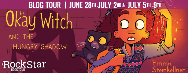 Blog Tour: The Okay Witch and the Hungry Shadow by Emma Steinkellner (Interview + Giveaway!)