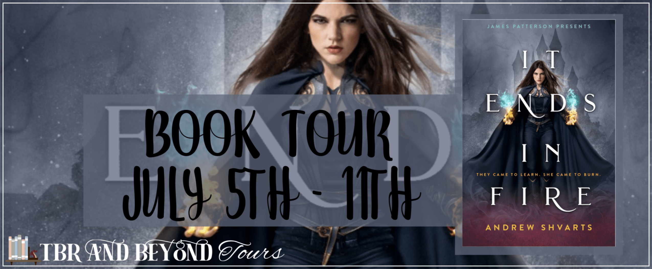 Blog Tour: It Ends in Fire by Andrew Shvarts (Interview!)