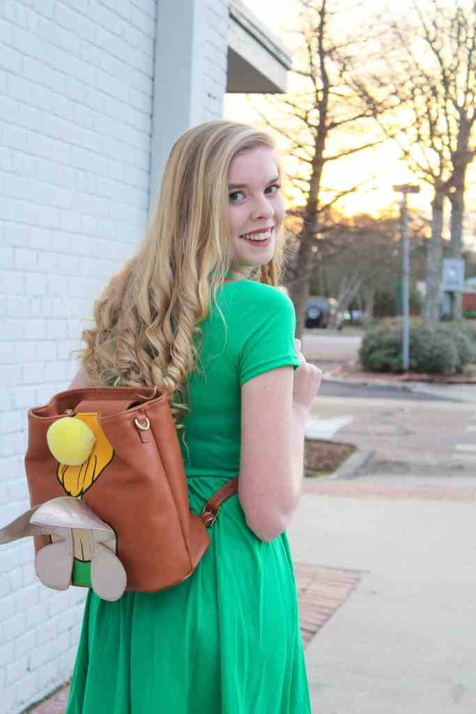 Off To Neverland | Disneybound Ideas | Tinkerbell Disneybound | Danielle Nicole Disney Tinkerbell | Disney Style | Disney Inspired | Disney Fashion | Disney Outfit Of The Day | Peter Pan Style | Peter Pan 65th Anniversary | Disney Parks Style Ideas | Disney Girl Beauty | Peter Pan OOTD | Tinkerbell OOTD | Kait Around The Kingdom | @kaitkillebrew