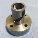 Customized CNC turn-milling compound centering machining