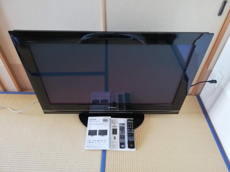 日立 42V型プラズマテレビ