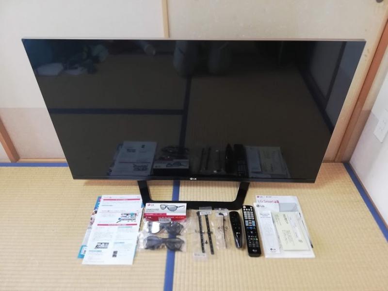 LG 47型スマートテレビ