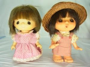 昭和レトロ ソフビ 人形 セキグチ製 2体セット 中古