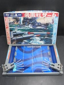 昭和レトロ エポック社 ニュー魚雷戦ゲーム 中古品