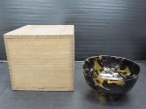 時代物 鼈甲 べっ甲 碗 高さ 約5.8cm 中古品