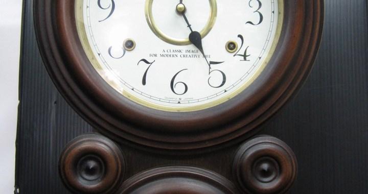 SEIKO セイコー 四ツ丸 だるま時計 電池式 中古品
